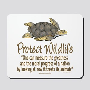 Protect Sea Turtles Mousepad